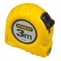METRE RUBAN STANLEY 3M - 12,7MM (CARTE)