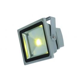 PROJECTEUR LED EXTERIEUR 1X30 WATTS ARGENTE