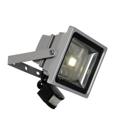 PROJECTEUR LED EXTERIEUR 1X30 WATTS ARGENT