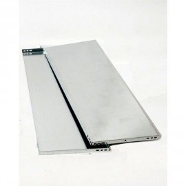 TABLETTE METAL GALVA 80X50 CM