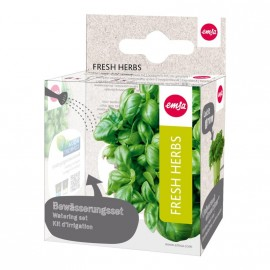SET D'IRRIGATION FRESH HERBS 9 PCES
