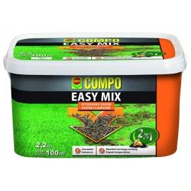 SEMENCE GAZON + ENGRAIS EASY MIX 2 EN 1