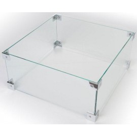 Verre de protection pour table rectangle