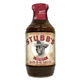 SAUCE BARBECUE STUBB'S SPICY