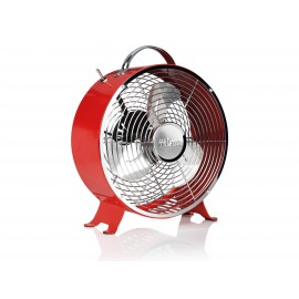 VENTILATEUR RETRO EN METAL 25 CM