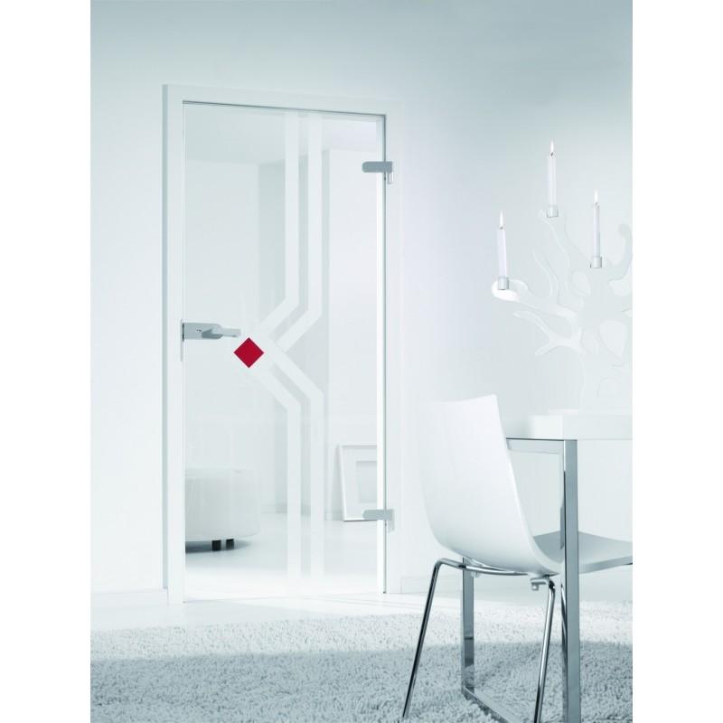 Porte interieure en verre basic line hoffmanns - Porte exterieure en verre ...